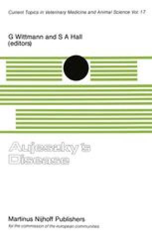Aujeszky's Disease