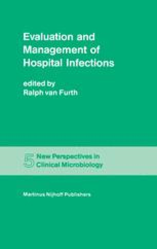 Evaluation and Management of Hospital Infections