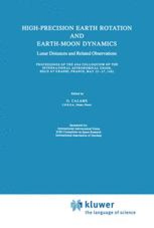High-Precision Earth Rotation and Earth-Moon Dynamics