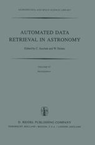 Automated Data Retrieval in Astronomy