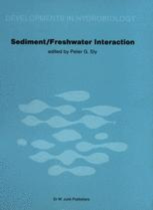Sediment/Freshwater Interaction