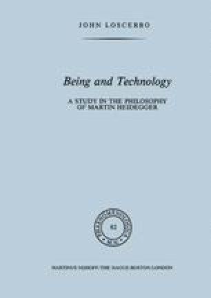 Being and Technology