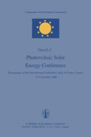 Photovoltaic Solar Energy Conference