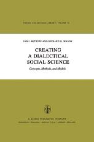 Creating a Dialectical Social Science