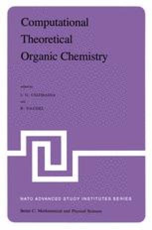 Computational Theoretical Organic Chemistry