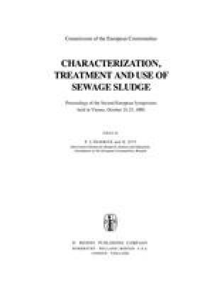 Characterization, Treatment and Use of Sewage Sludge
