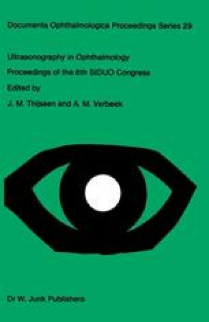 Ultrasonography in Ophthalmology