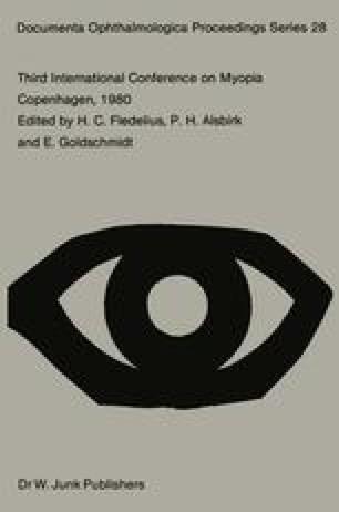Third International Conference on Myopia Copenhagen, August 24–27, 1980