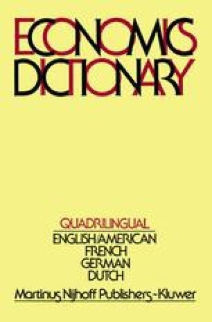 Quadrilingual Economics Dictionary
