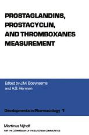 Prostaglandins, Prostacyclin, and Thromboxanes Measurement