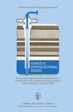 Advances in European Geothermal Research