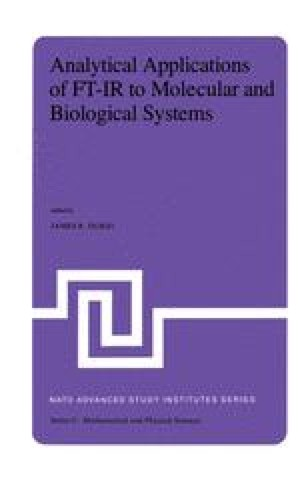 Analytical Applications of FT-IR to Molecular and Biological Systems