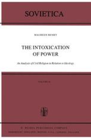 The Intoxication of Power