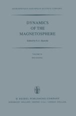Dynamics of the Magnetosphere