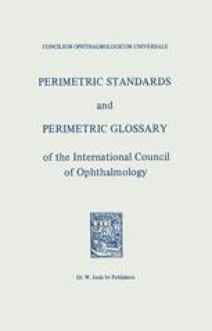 Perimetric Standards and Perimetric Glossary