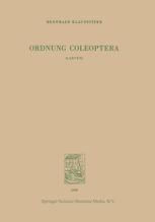 Ordnung Coleoptera (LARVEN)