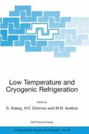 thermoacoustic refrigeration low temperature applications and optimization