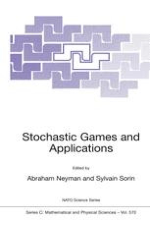 Stochastic Games and Applications