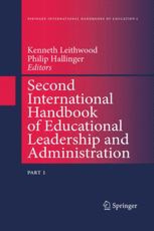 Second International Handbook of Educational Leadership and Administration
