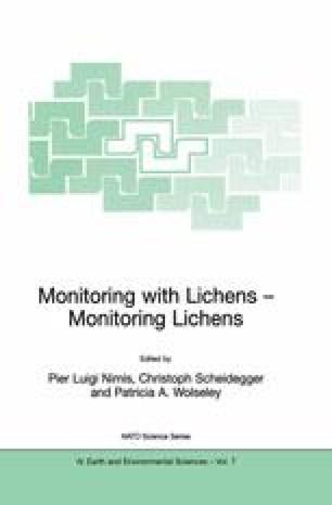 Monitoring with Lichens — Monitoring Lichens