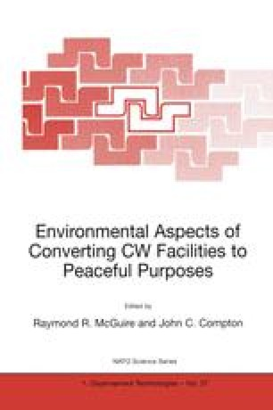 Environmental Aspects of Converting CW Facilities to Peaceful Purposes