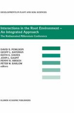 Interactions in the Root Environment: An Integrated Approach