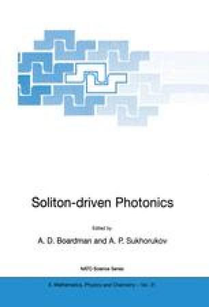 Soliton-driven Photonics