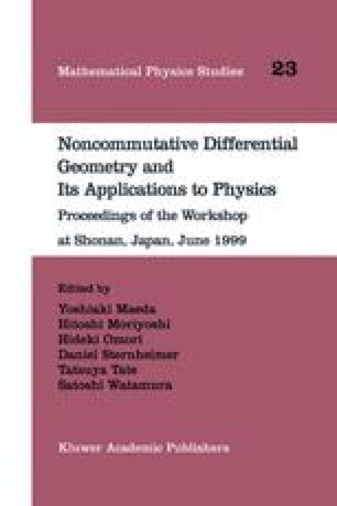 Noncommutative Differential Geometry and Its Applications to Physics