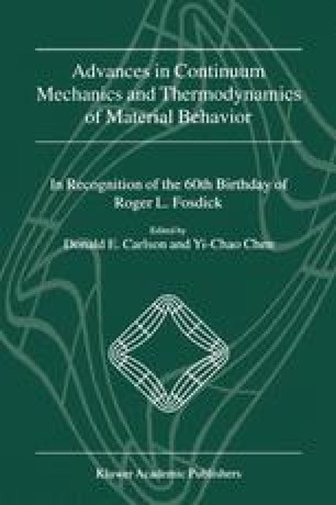 Advances in Continuum Mechanics and Thermodynamics of Material Behavior