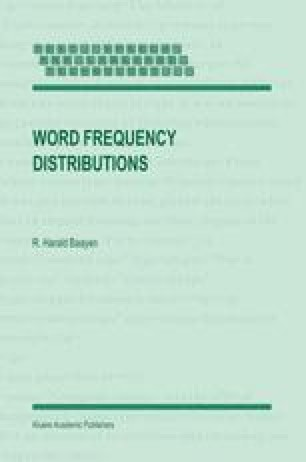 Word Frequency Distributions