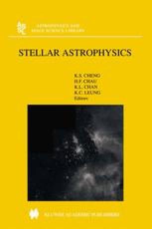 Stellar Astrophysics