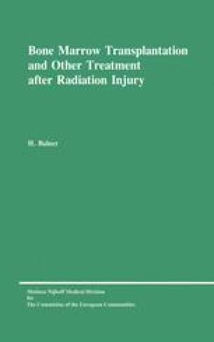 Bone Marrow Transplantation and Other Treatment after Radiation Injury