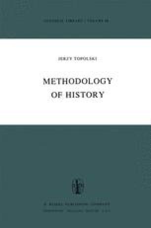 Methodology of History