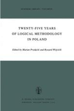 Twenty-Five Years of Logical Methodology in Poland