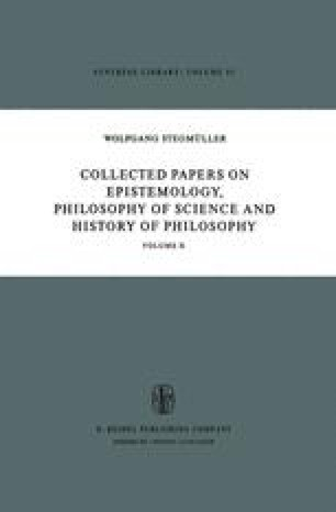 Collected Papers on Epistemology, Philosophy of Science and History of Philosophy