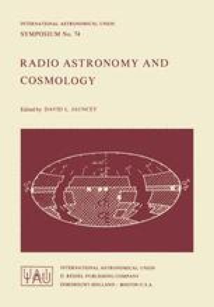 Radio Astronomy and Cosmology