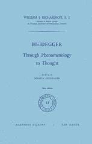 Heidegger The Origin Of The Work Of Art