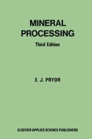 Mineral Processing Book