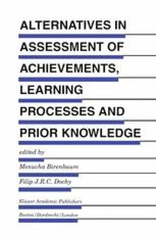 Assessment 2000: Towards a Pluralistic Approach to