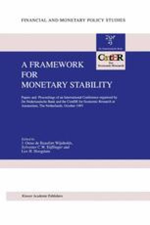 The Role of Monetary Policy in IMF Programs | SpringerLink