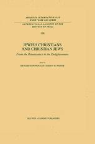 The Myth of Jewish Antiquity: New Christians and Christian