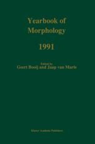 Quantitative aspects of morphological productivity | SpringerLink