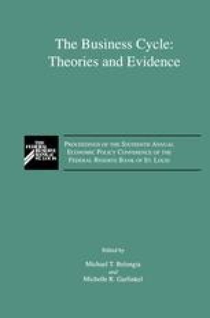 The cowles commission approach real business cycle theories and the business cycle theories and evidence fandeluxe Image collections