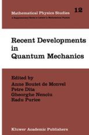 Recent Developments in Quantum Mechanics