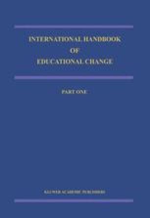 International Handbook of Educational Change