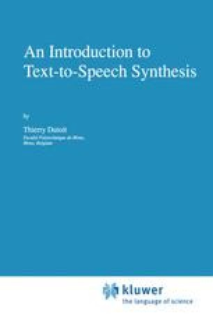 NLP Architectures for TTS Synthesis | SpringerLink