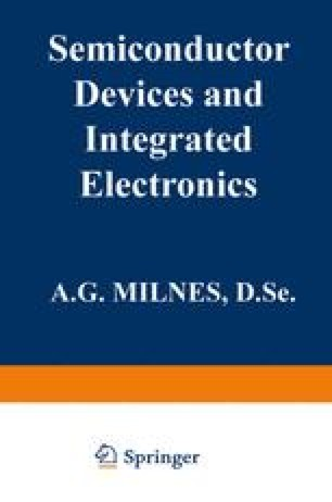 JFETs and MESFETs — Field Effect Transistors | SpringerLink