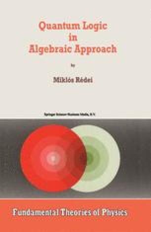 Orthomodular Lattices: Algebraic Approach / Edition 1