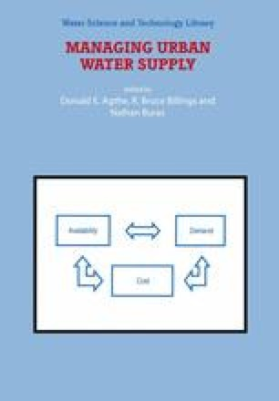 Industrial and Commercial Water Demands | SpringerLink