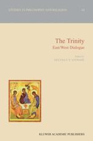 St Augustine's Doctrine of the Trinity in the Light of